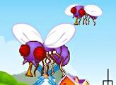 Игра Истребление мух-мутантов