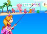 Игра Девочка на рыбалке