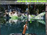 Игра Рыбалка в лесном озере