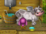 Игра Уход за коровой