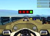 Игра Крутая 3D гонка