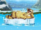 Игра Ледниковый период 3: Эра Динозавров - Диего: Дрейф на горной реке