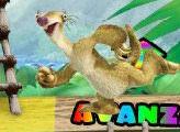 Игра Ледниковый период 3:Эра Динозавров - Большой побег от маленького Дино