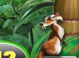 Игра Ледниковый период 3: Эра Динозавров - Скрат, ловушки с желудями