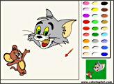 Игра Том и Джерри: Раскраска