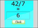 Игра Математический пример