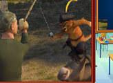 Игра Кот в сапогах: перетащи элементы