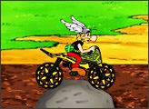 Игра Астерикс на мотоцикле