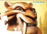 Игра Ледниковый период: Пазл Диего