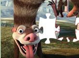 Игра Ледниковый период: Пазл Братья Опосумы - Крэш и Эдди