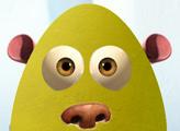 Игра Ледниковый период:Раскрась яйца.
