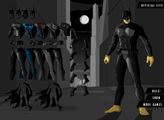 Игра У Бэтмена в гордеробе