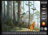Игра Винни Пух в лесу