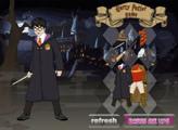 Игра Гарри Поттер - сражение