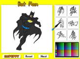 Игра Бэтмен - раскраска 2