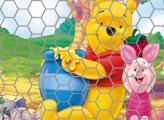 Игра Винни Пух, Пятачок и горшочек мёда