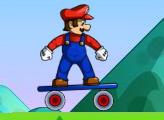 Игра Марио на скейтборде