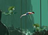 Игра Гарри - подводное плавание