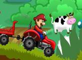 Игра Грибная ферма Марио