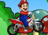 Игра Марио мото трюки