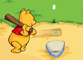 Игра Винни Пух - бейсбол