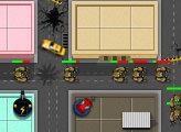 Игра Супер герои - Защита города