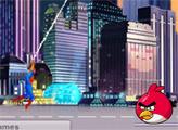 Игра Человек паук и Злые птицы