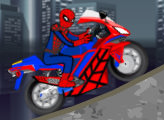 Игра Байкер Человек паук