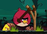 Игра Злые Птицы: Хэллоуин