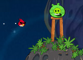 Игра Злые Птицы: Миссия в космосе