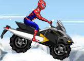 Игра Человек Паук на квадроцикле