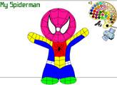 Игра Раскраска - Человек Паук