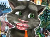Игра Говорящий кот Том: Визит у стоматологу
