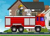 Игра Кот Том Пожарный