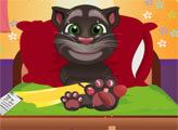 Игра Говорящий кот Том: Помощь хирурга