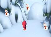 Игра Маша и Снеговики