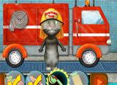 Игра Говорящий кот Том на Автомойке