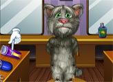 Игра Побрей Кота Тома