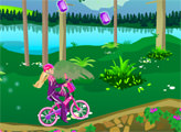 Игра Путешевствие Барби на Байке