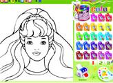 Игра Раскраска Барби