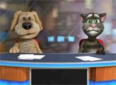 Игра Говорящий кот Том и Пес Спайк