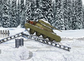 Игра Зимняя битва танков