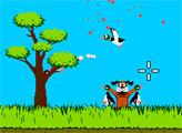 Игра Утиная охота - Пулемет