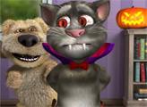 Игра Говорящий кот Том: Хэллоуин