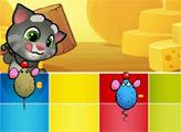 Игра Говорящий котенок Том против мышей