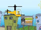 Игра Губка Боб - Полет на Вертолете