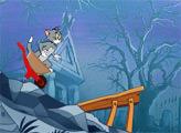 Игра Том и Джерри: Вниз по горному склону