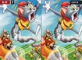 Игра Том и Джерри: Найди Различия
