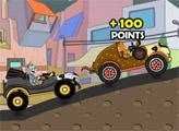 Игра Том и Джерри - Необычные гонки