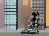 Игра Доктор Осьминог - уничтожить город!